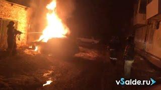 Пожар ВАЗ-2112, 11.04.2017, Верхняя Салда
