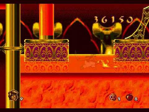 Aladdin MegaDrive Genesis Playthrough Part 07