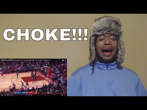 STEPHANIE (STEPH) CURRY CHOKED! Golden State Warriors vs Houston Rockets Game Highlights (REACTION)