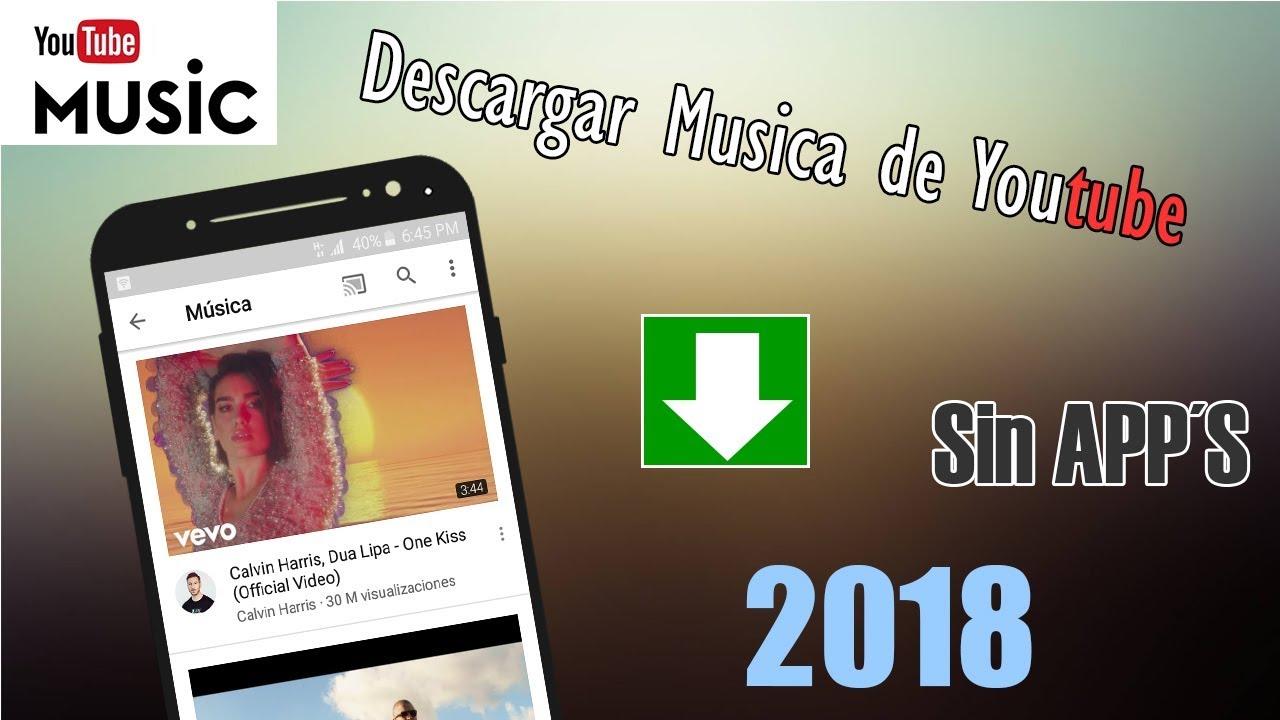 descargar musica de internet a celular