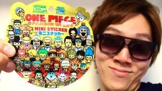 One piece mini sticker - ワンピースミニステッカー thumbnail