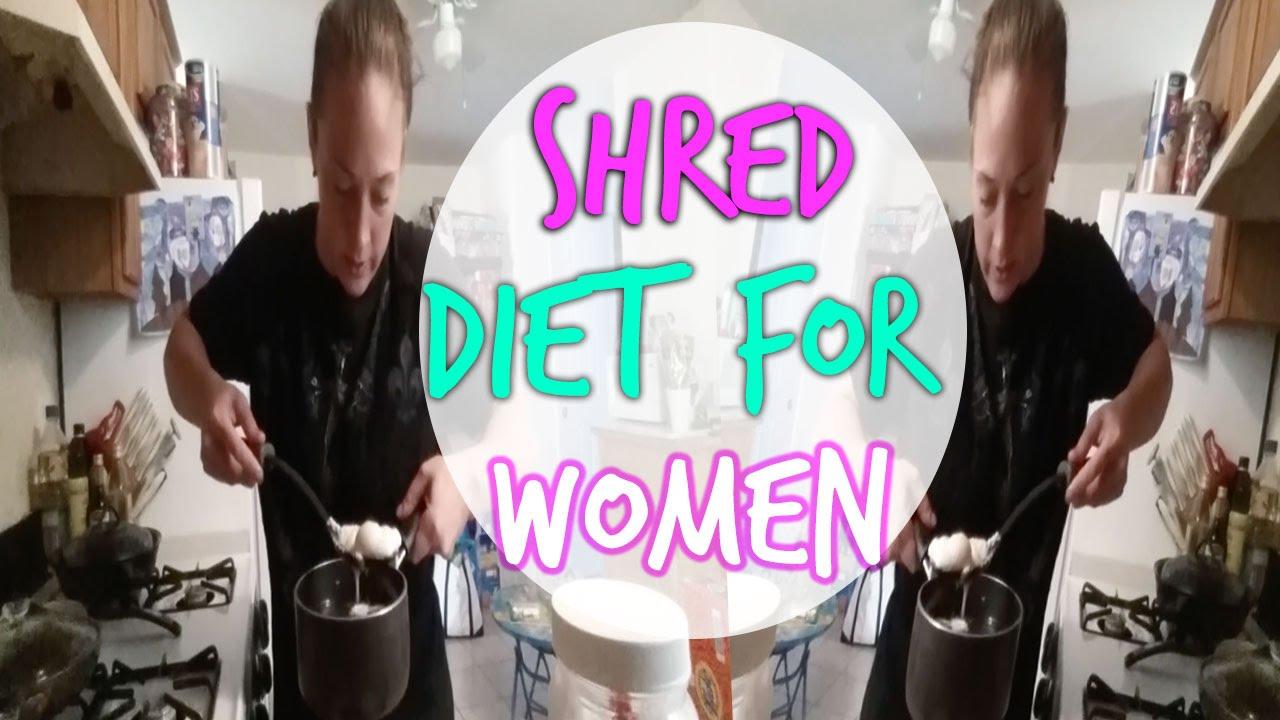 Shred Diet For Women | Full Day Of Eating for Fat Loss!