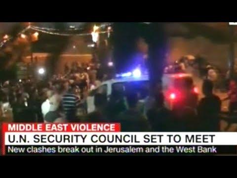 Emergency U.N. Security Council Meeting On Violence In Jerusalem Set For Monday