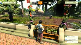 Xbox One Launch: Zoo Tycoon gameplay pt1
