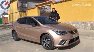 Seat Ibiza 1.0 TGI 2018  mit CNG-/Erdgasantrieb 66 kW / 90 PS Fahrbericht / Review