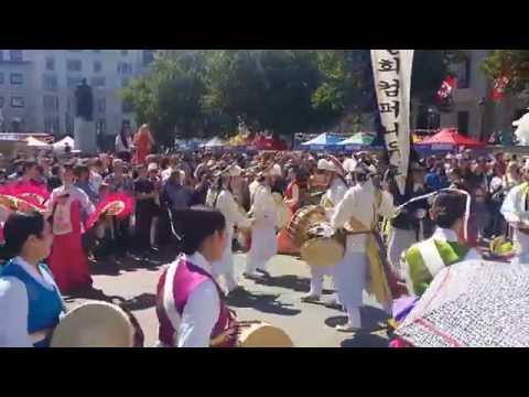 Traditional Korean Music Performance at London Korean Festival 20150809