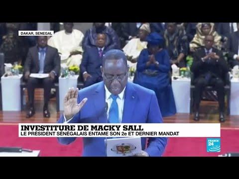 Le président sénégalais Macky Sall entame son 2e et dernier mandat