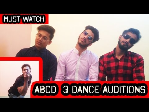 ABCD 3 Movie Dance Auditions || Remo Desouza || Prabhu Deva || Raghav Juyal || Naved Solanki