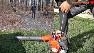 Husqvarna 525BX blower - First Start + TEST