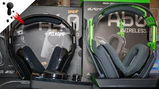 Astro A50 and A40 Headset Comparison Review (PC, Xbox or PS4)