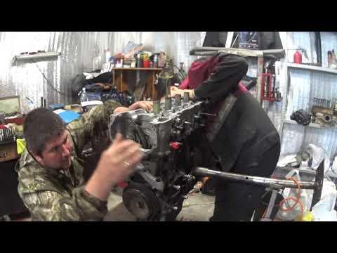 ниссан алмера QG15DE Сборка изапуск двигателя