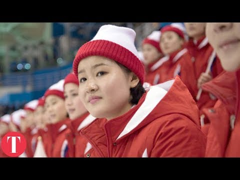 Things You Didn't Know About The North Korean Olympic Cheerleaders