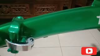 Sepeda Jadul Rasa Modern Upgrade Tipis Sepeda Lipat Odessy Dolphin 16inch Dengan Badget Pas An Youtube