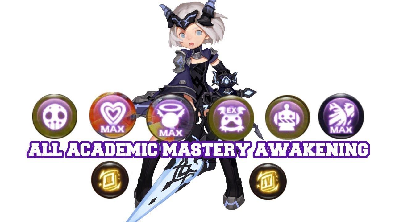 All Academic Mastery Awakening [Mastery III & Mastery IV ] [CC