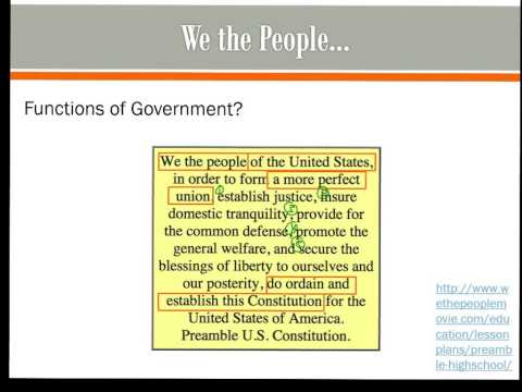 Articles of Confederation and Preamble
