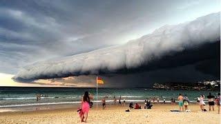 Сильный шторм в Австралии
