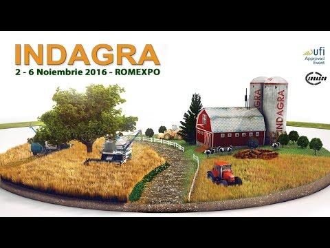 Indagra 2016 | Romexpo, 2 - 6 noiembrie