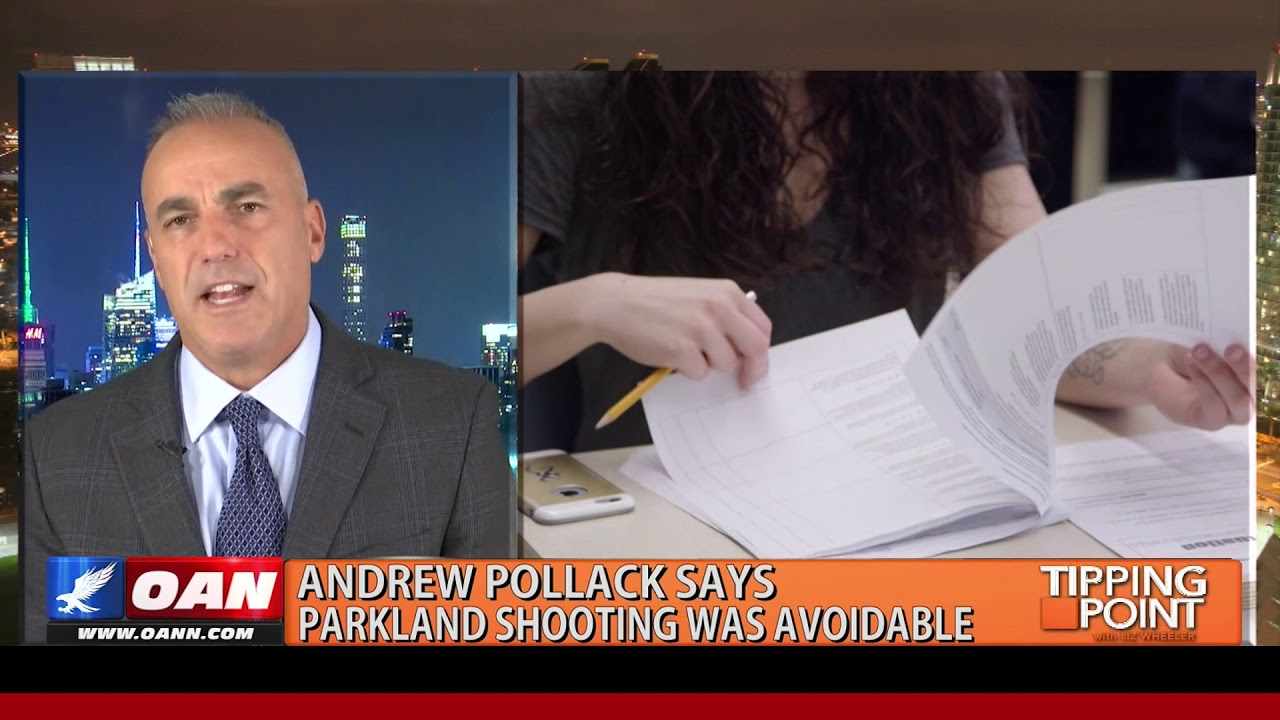 Tipping Point Father Of Parkland Victim Says Shooting Was Avoidable In New Book