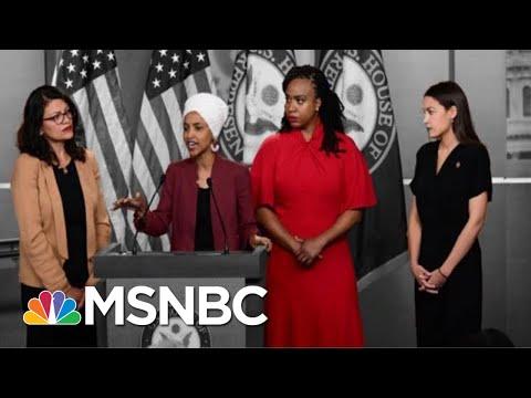 President Donald Trump Steps Up Attacks On Four Democratic Congresswomen | The 11th Hour | MSNBC