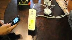 iSocket GSM 705 - kauko-ohjattava pistorasia ::  Remote control via SMS :: GSM ohjaus