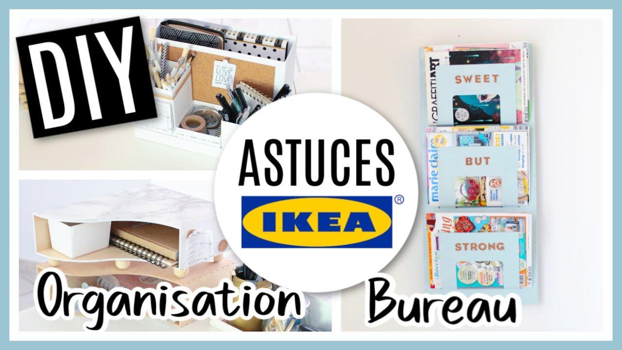 Diy Ikea Hacks Astuces Rangement Deco Bureau Séverine Jenny