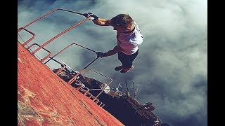 Rooftop Badass - Street Workout at 360m (1181ft) the tallest chimney in Europe - Slovenia