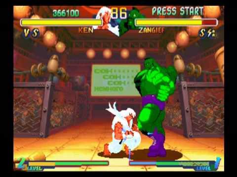 Street Fighter Alpha 2 - Ken