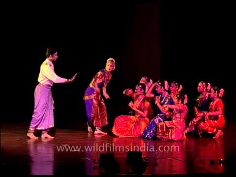A combination of music, expression and rhythm - Bharatnatyam