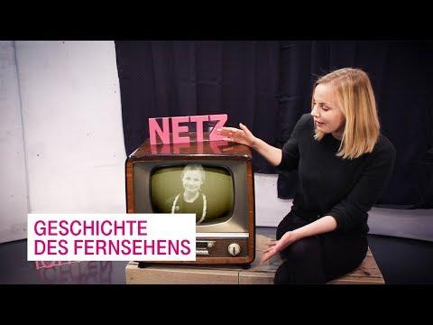 Social Media Post: Die Geschichte des Fernsehens - Netzgeschichten