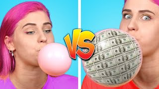 RICH vs BROKE Student 11 Awkward Moments Funny Situations Clever DIY Ideas by Crafty Panda