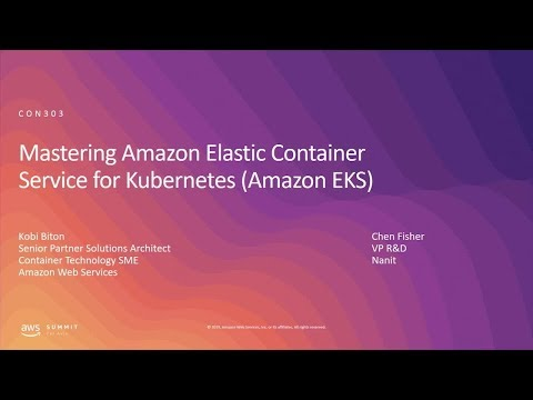 AWS Summit Tel Aviv 2019 | Mastering Amazon Elastic Container Service for Kubernetes (Amazon EKS)