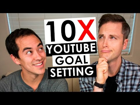 YouTube Goal Setting for 10X Growth in 2017