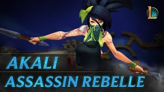Akali, Assassin rebelle | Bande-annonce de champion - League of Legends