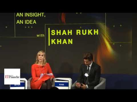 Download Davos Full interview of SHAHRUKH KHAN 2018.