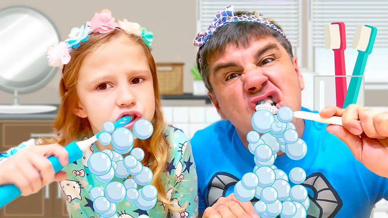 Nastya y papá nueva serie divertida para niños