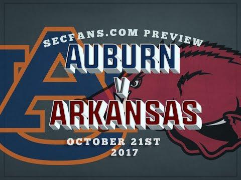 Auburn vs Arkansas - Computer Model Prediction & Preview - 2017