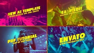After Effects Template: Party Opener