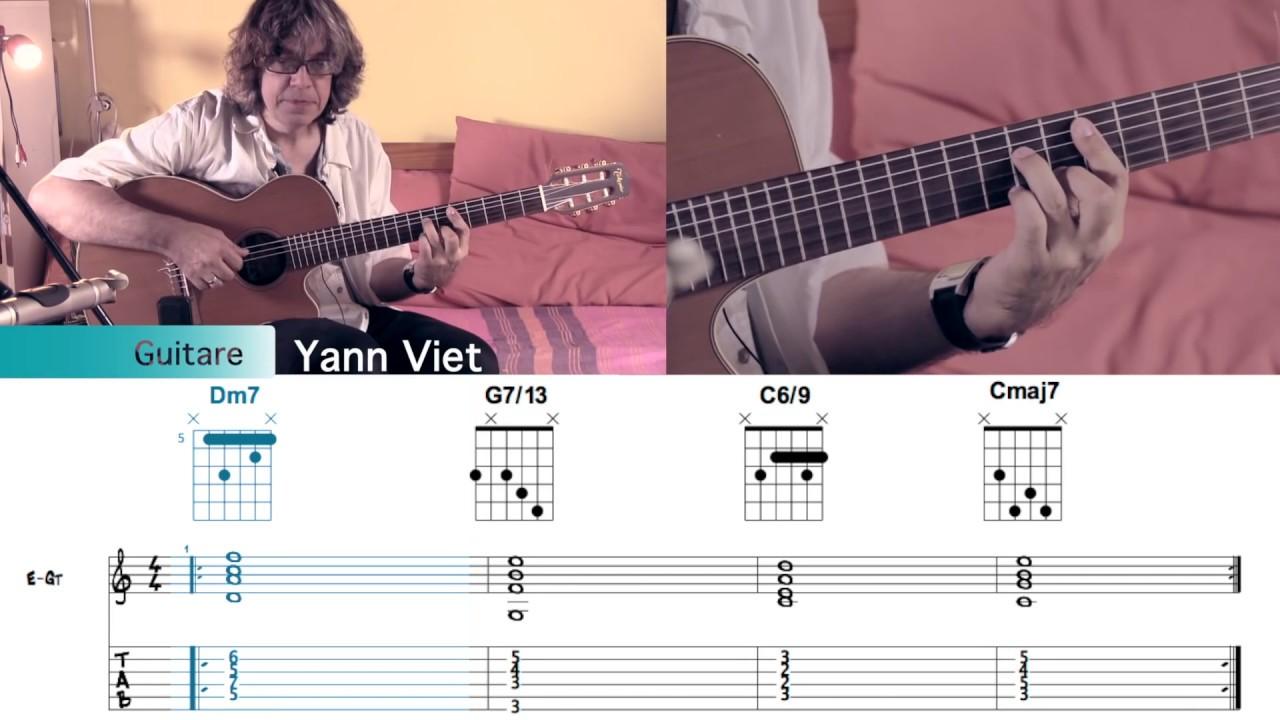 Vidéos Pédagogiques Guitare Jazz Yann Viet