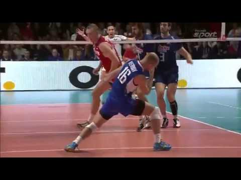 Awesome Moments European Championship Finals In Men's Volleyball In 2013  The First Part