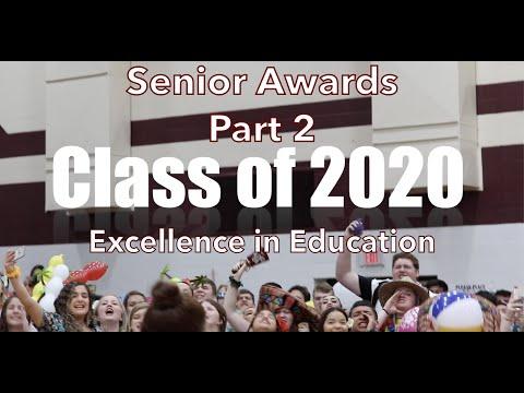 Calallen High School Senior Awards Part 2