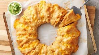 Mac and Cheese Crescent Ring  Pillsbury Recipe