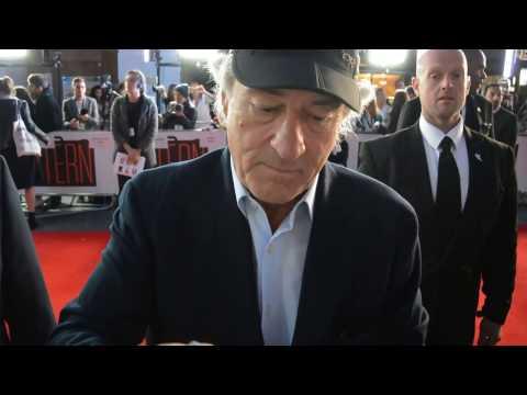 Robert De Niro meets fans at the The Intern Film Premiere, London