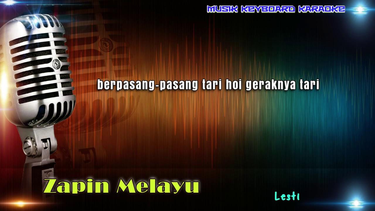 zapin melayu karaoke vokal youtube
