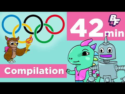 The Olympics | Sports Around the World with BASHO & FRIENDS