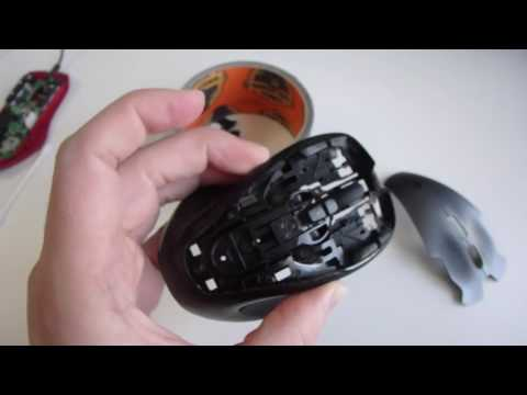 Easy Fix for Logitech G300 Double Click Problem - YouTube
