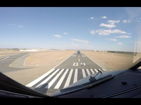 Approach & Landing runway 09 Sevilla San Pablo (SVQ LEZL)