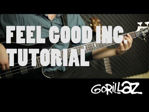 Gorillaz - Feel Good Inc. | Tutorial Bajo FÁCIL (HD)