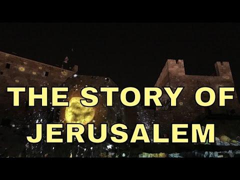 The Night Spectacular Light Show, Jerusalem