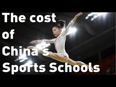 Step inside China's gruelling sports schools