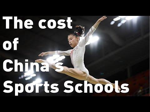 Step inside China's gruelling sports schools